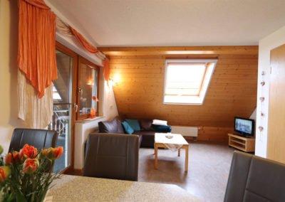 Wohnzimmer  in der Fewo Felberg