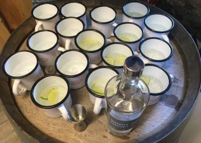 Gin Tonic mit Somm 16 in speziellen Sprüchebecher