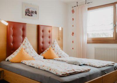 Schlafzimmer der Fewo Kandelblick