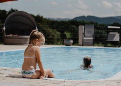Urlaub auf dem Bauernhof mit Schwimmbad