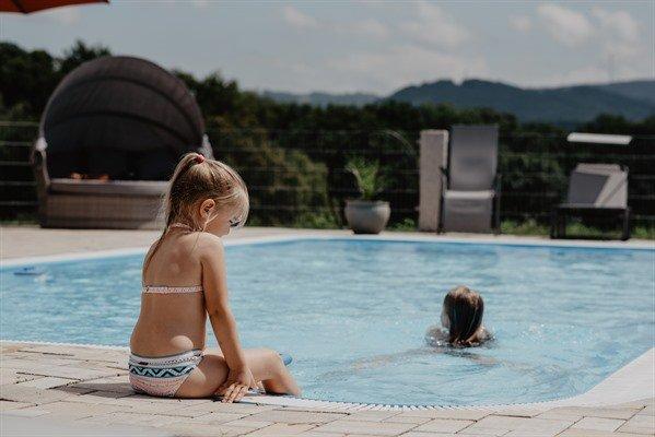 Schwimmbad – die beste Abkühlung bei den heissen Temperaturen